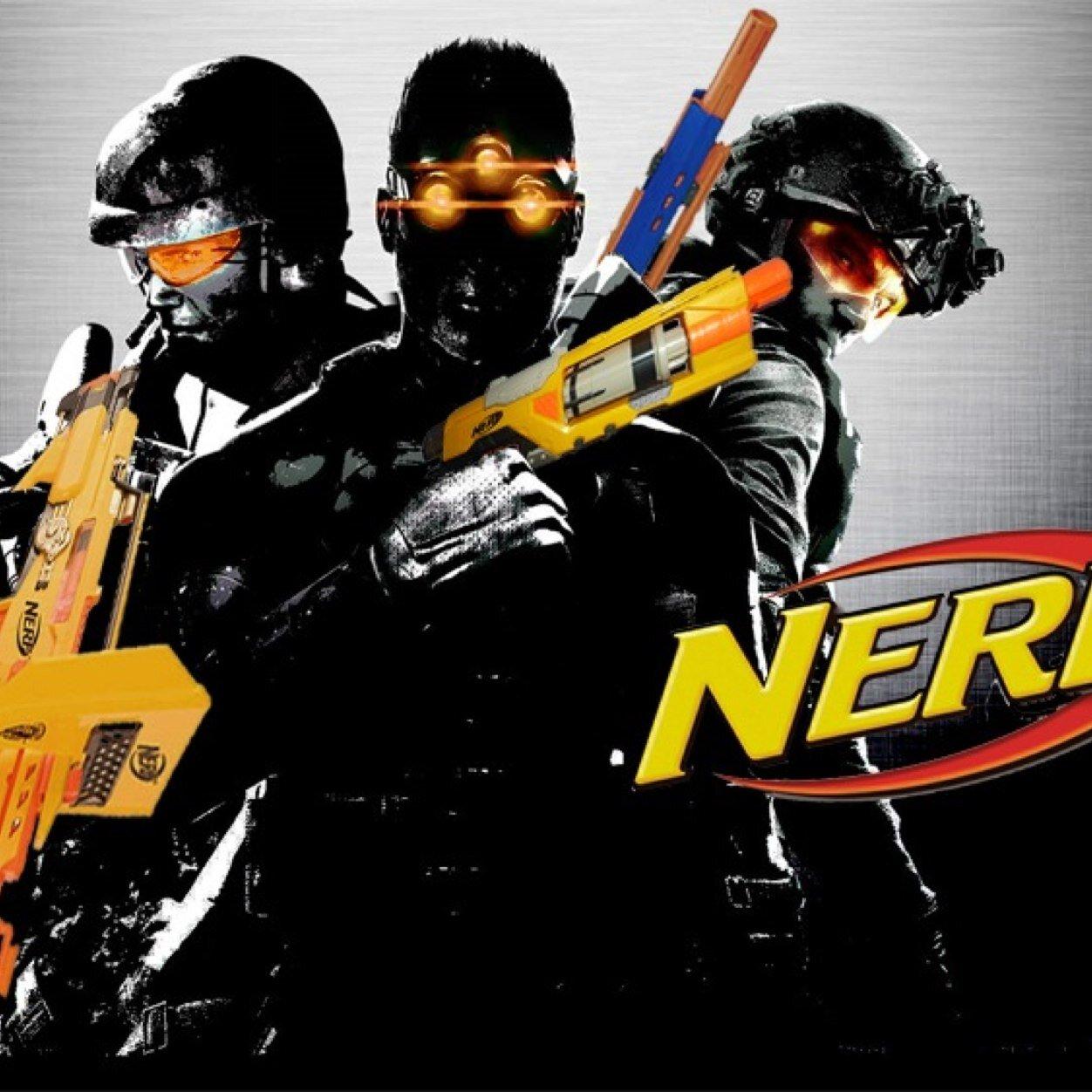 Pics For Nerf Wars Logo