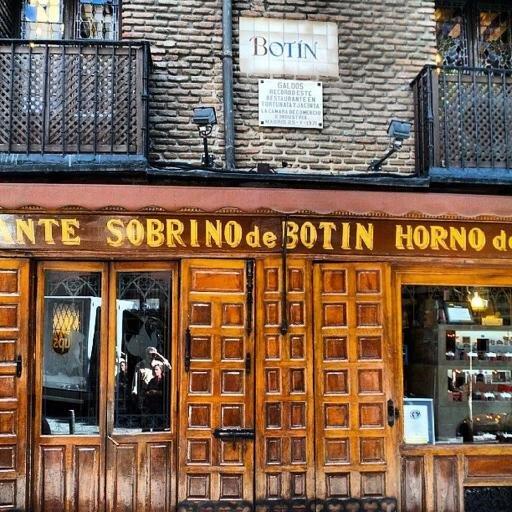 Restaurante botin casabotin twitter for Casa botin madrid