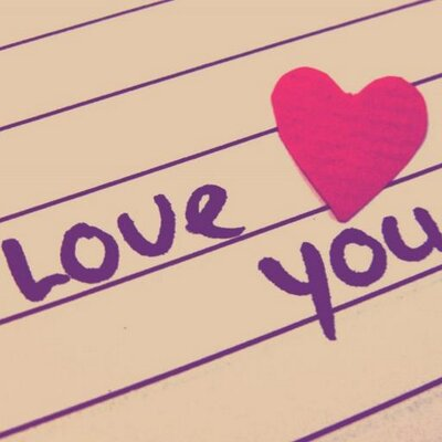 Cute Love Message on Twitter: