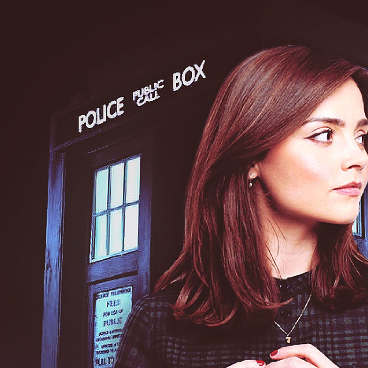 doctor who clara oswald wallpaper