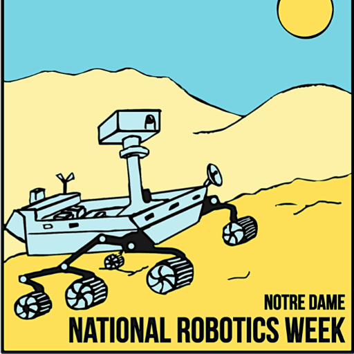 5th Annual Notre Dame National Robotics Week Event (ND-NRW) logo