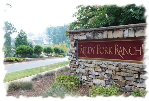 Reedy fork ranch model home.