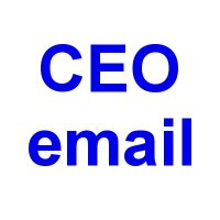 CEOemail | Social Profile