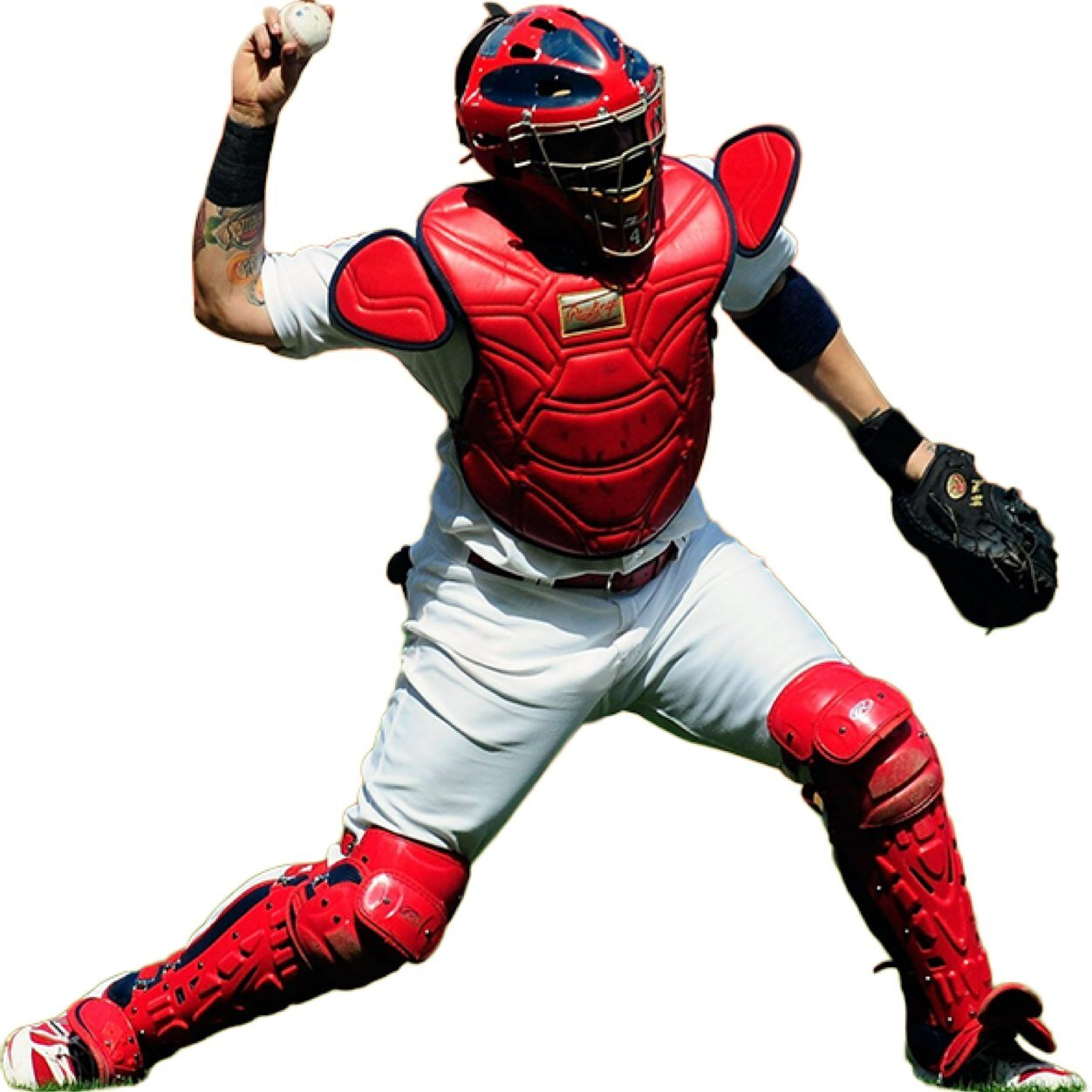 how to clean catchers equipment