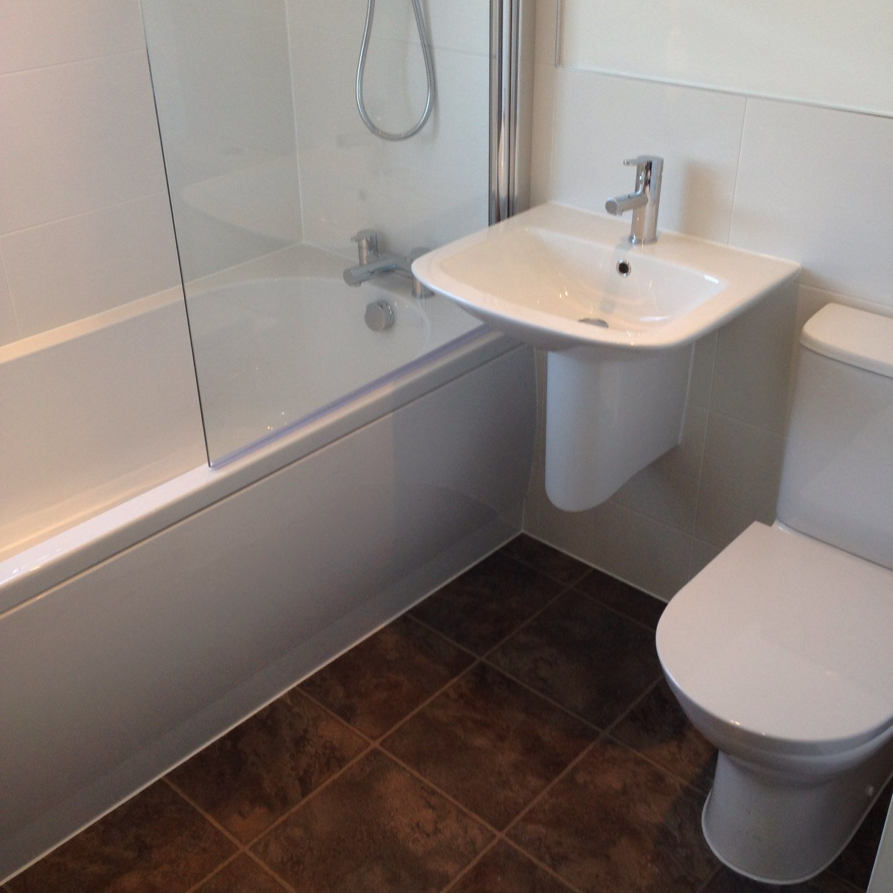 Fully Tiled Bathroom Almac Plumbheating On Twitter Bath Basin Toilet And Walk In