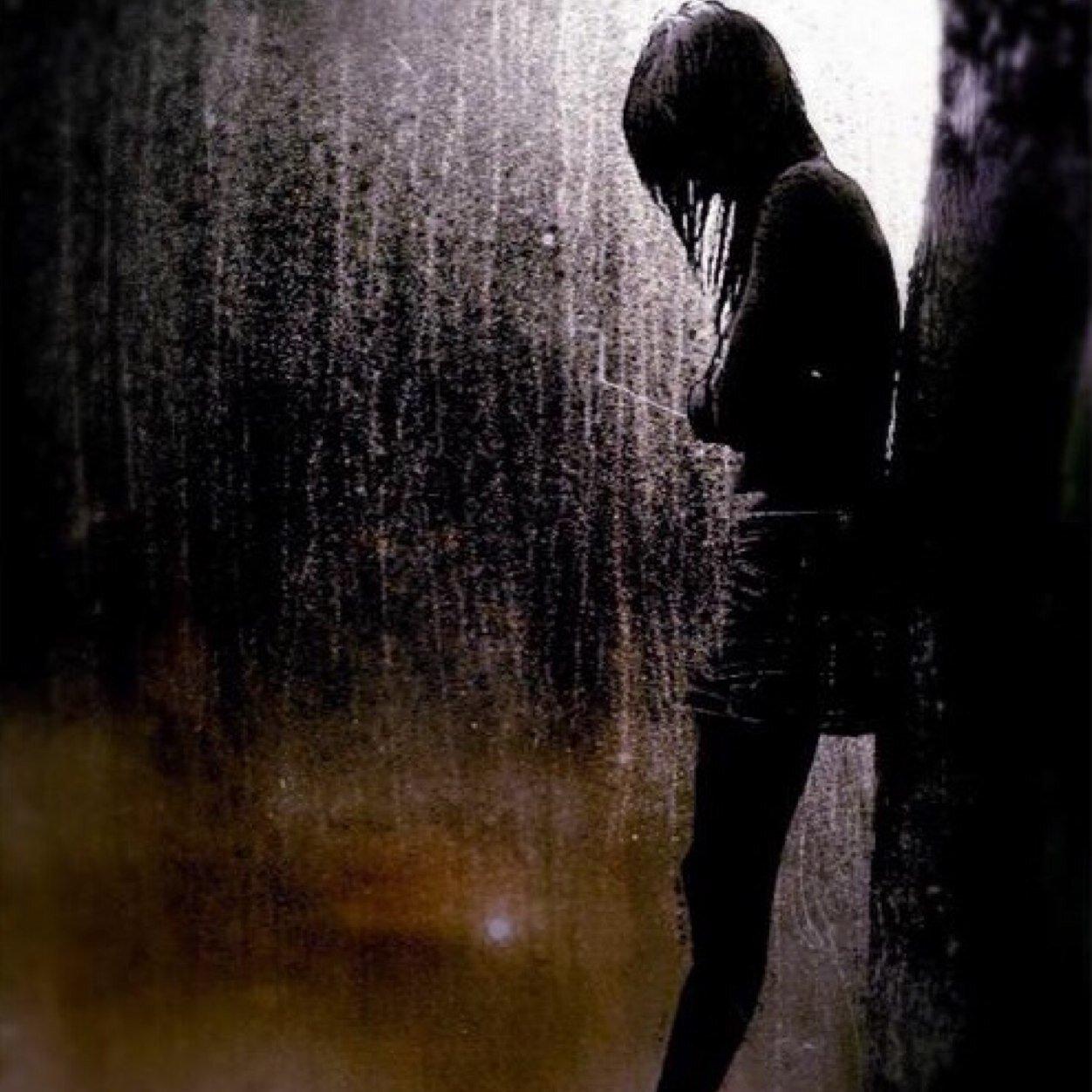 грустные картинки одиночество аву находится устье реки
