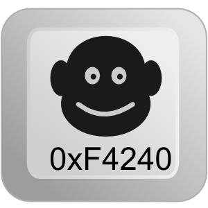 Monkey 0xF4240