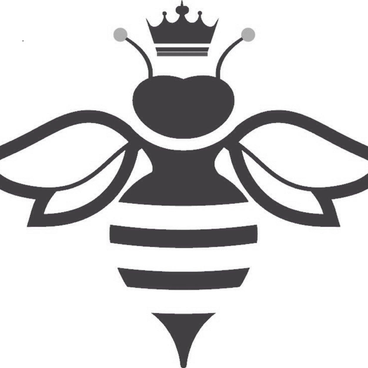 queen bee naturals   qbnaturals  twitter Bee Outline Vector Bee Vector Art
