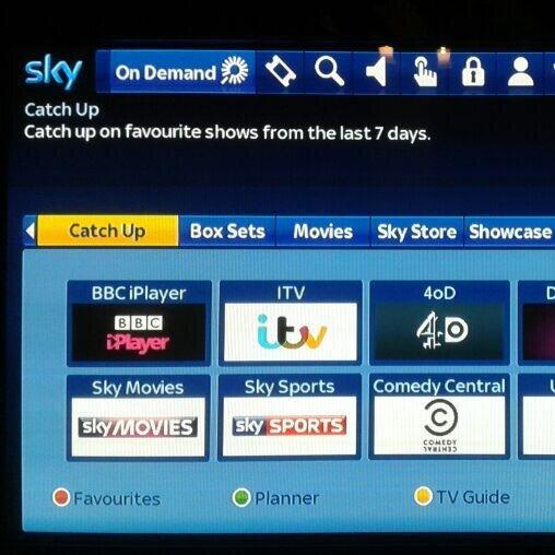 Sky On Demand über Sky Go