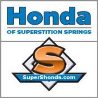 Supershonda supers honda twitter for Superstition springs honda