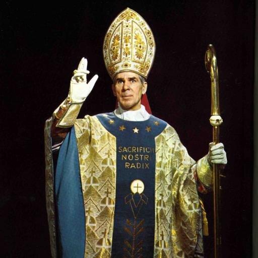 Image result for archbishop sheen