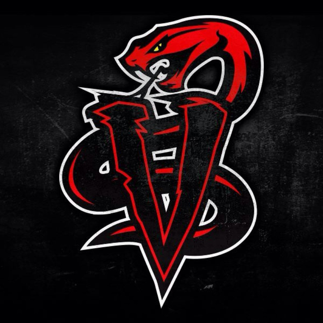 Red viper snake logo - photo#11