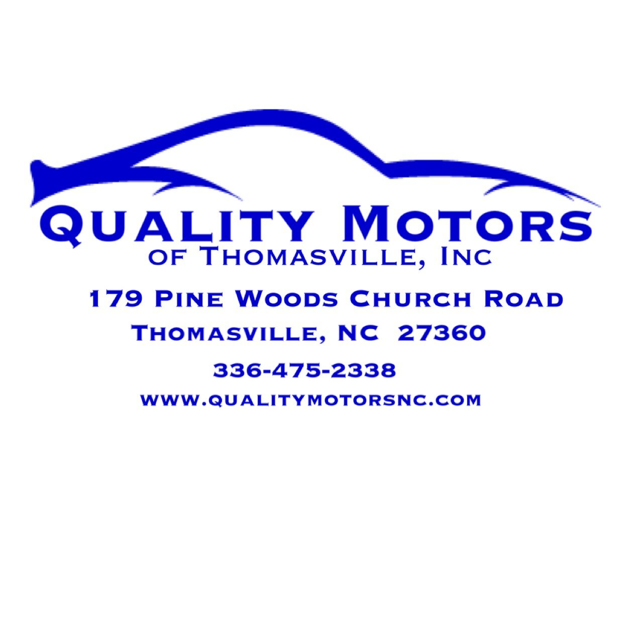 Quality motors qualitymotorsnc twitter for Modern motors thomasville nc