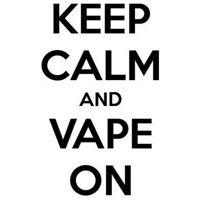 Keep Calm - Vape On