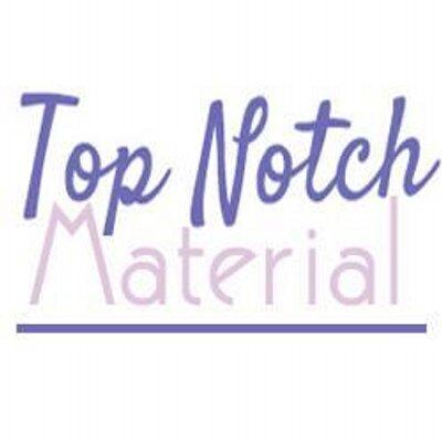 Top Notch Material (@topnotchblog) | Twitter