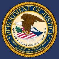 US Attorney S. Iowa