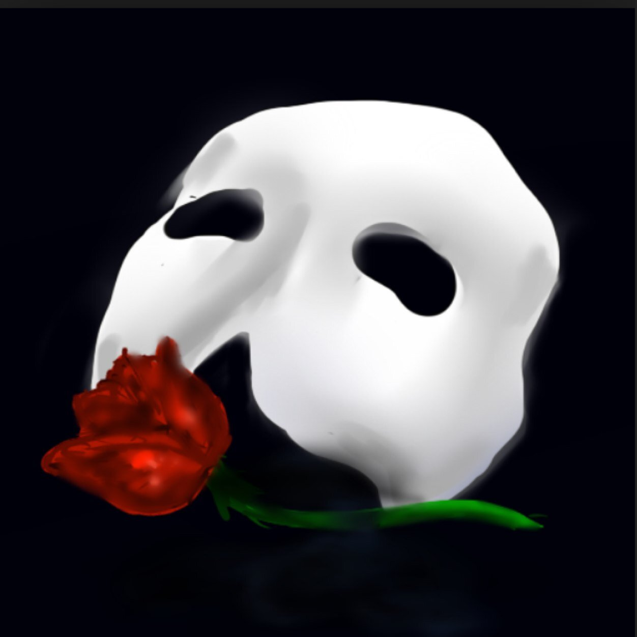 Phantom of the opera rose and mask the for The mask photos gallery