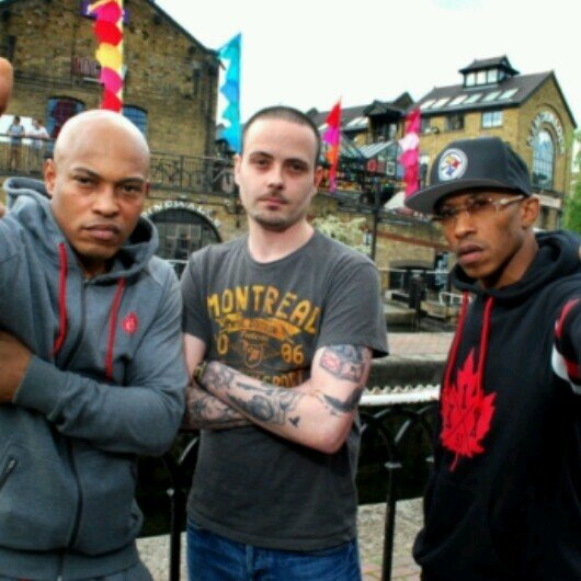 North West London rapper Wise Rap takes US rap group Onyx for a guided tour of Brent.