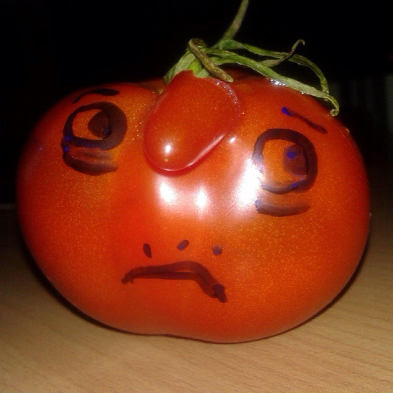 для прикольные картинки с помидорами целом