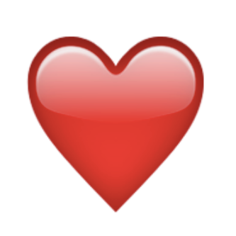 Heart Emoji on Twitter: