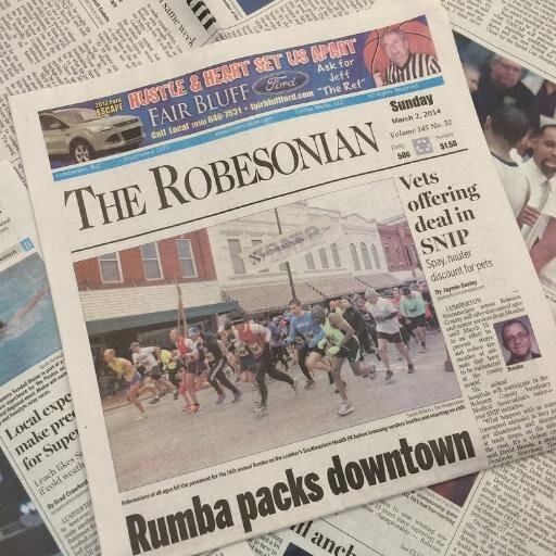Robesonian newspaper