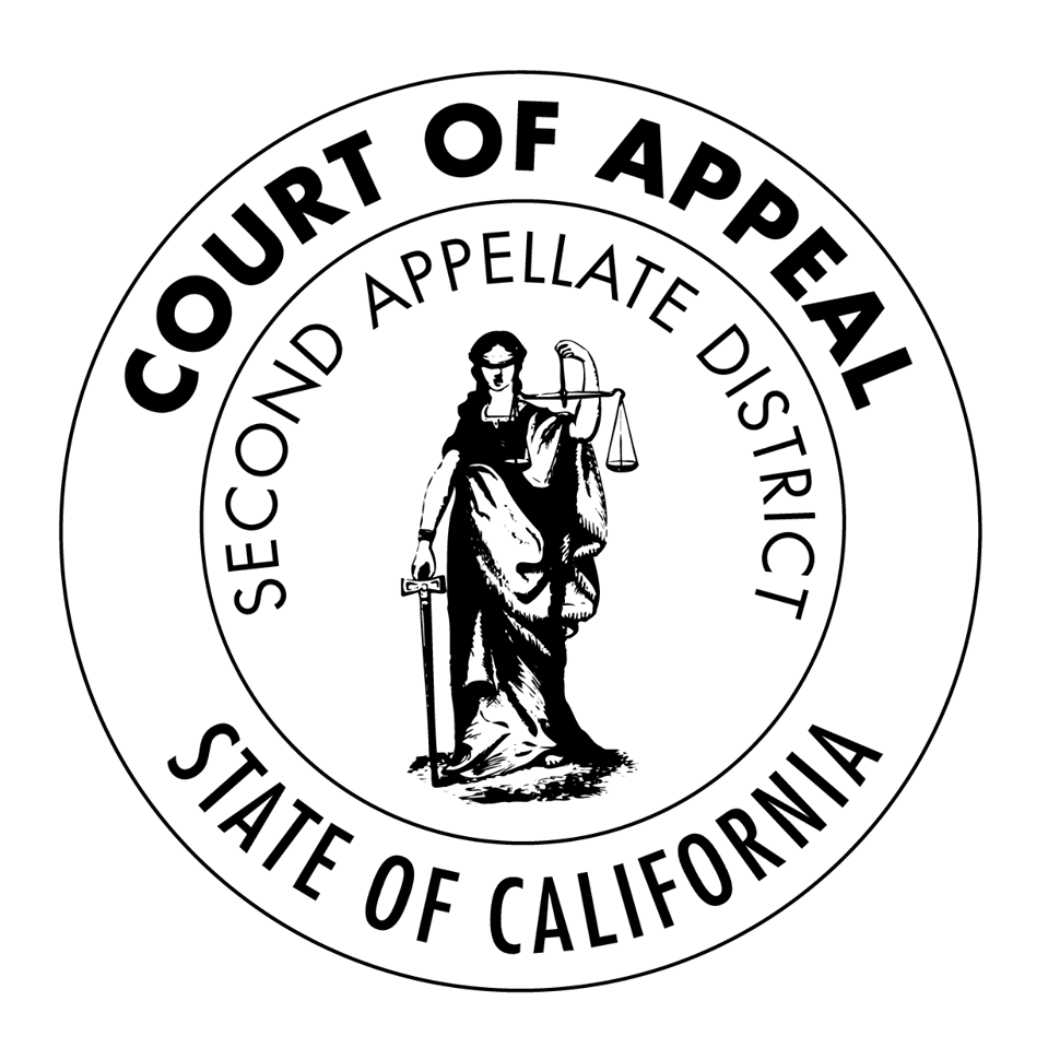 Resultado de imagen de seal Courts of Appeal of the State of California