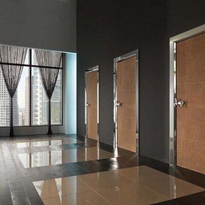 стильные входные офисные двери