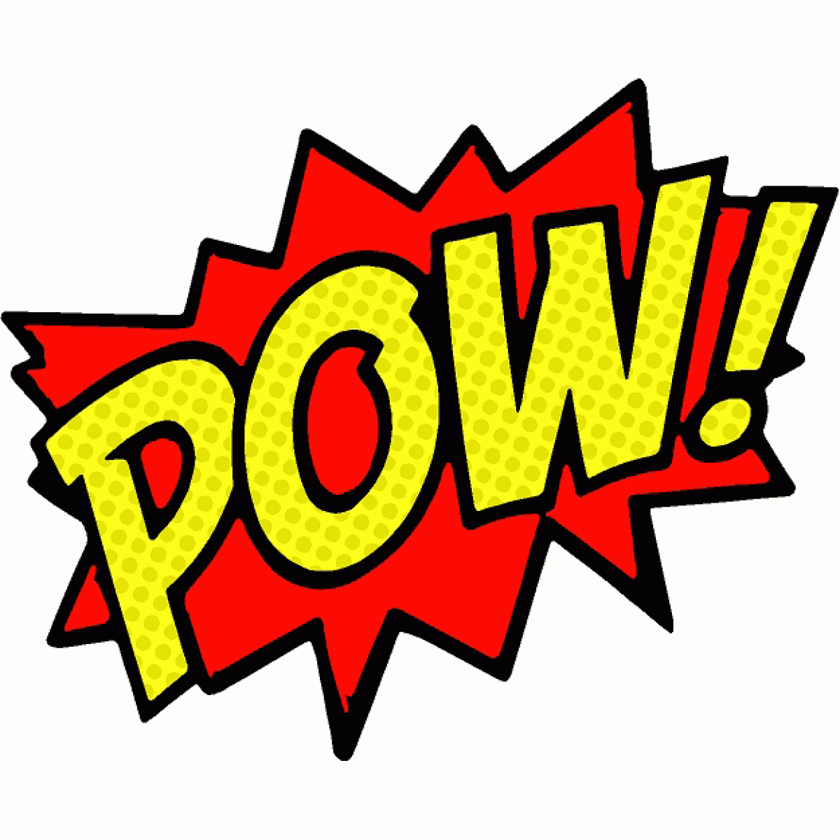 pow www imgkid com the image kid has it Cute Superhero Clip Art All Superhero Symbols