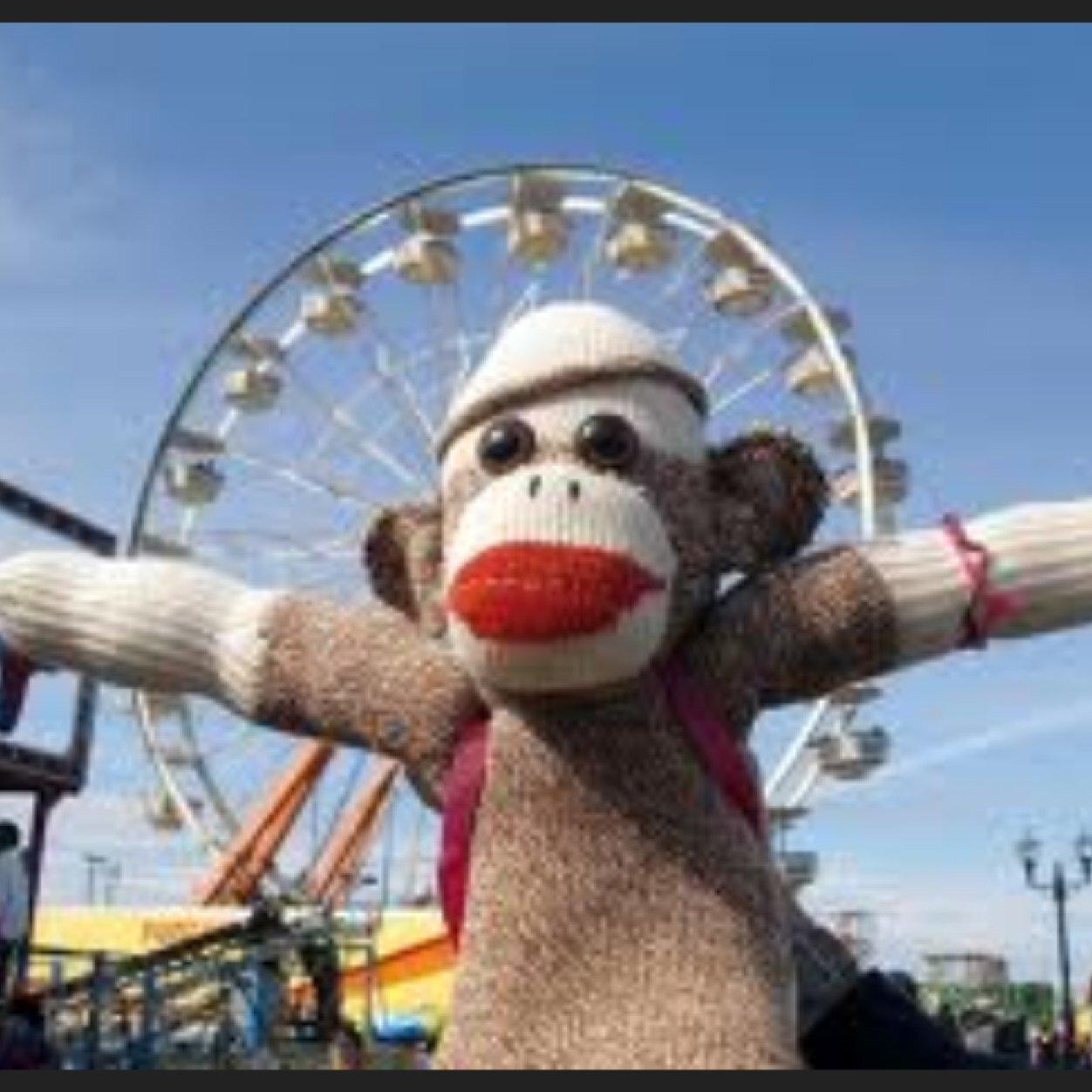 Sock monkey porn seems