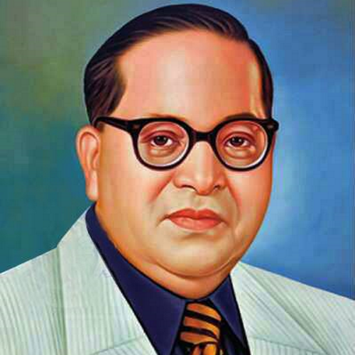 b r ambedkar Father of republic india,, father of india's constitution, polymath, revolutionary and buddhism revivalist.