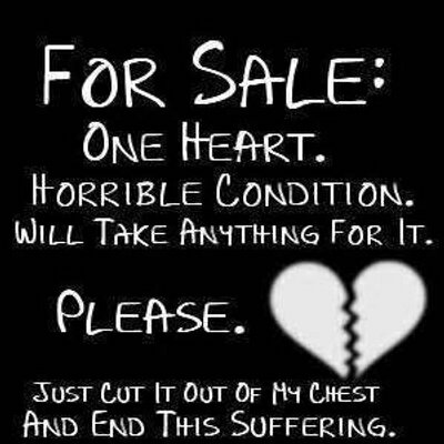 sad love quotes heart broken quotes sayingimagescom - 711×720