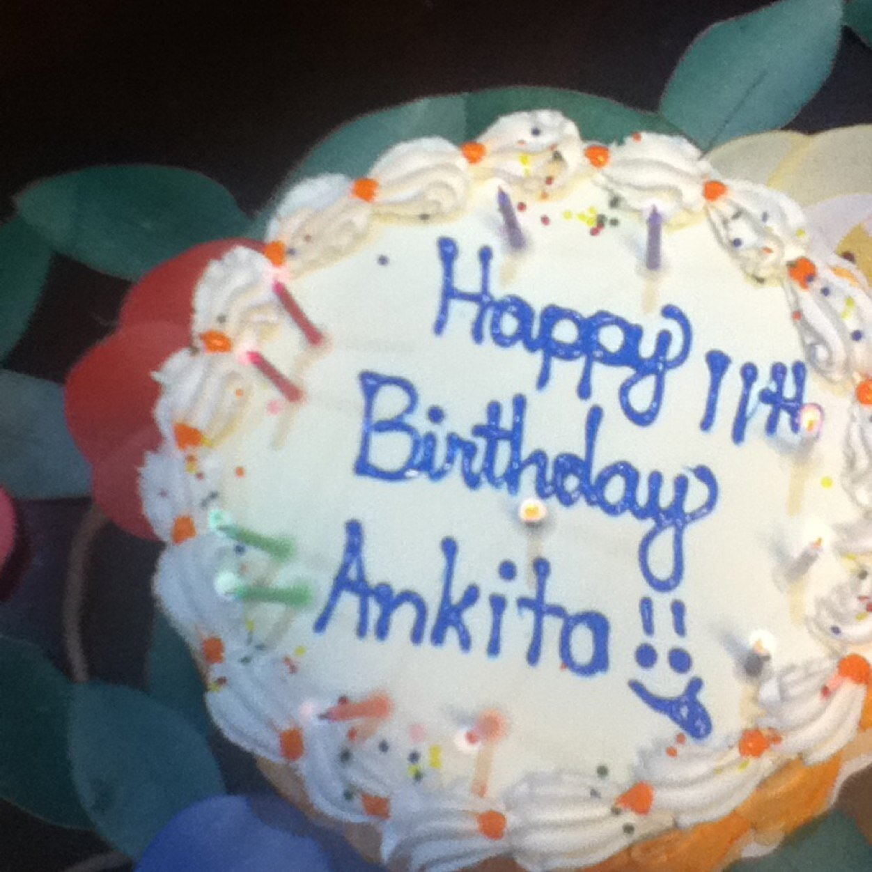 Happy Birthday Ankita Cake Images Hd Bahuma Sticker