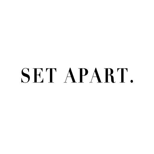 Apart From Them: SET APART (@setapartstore)