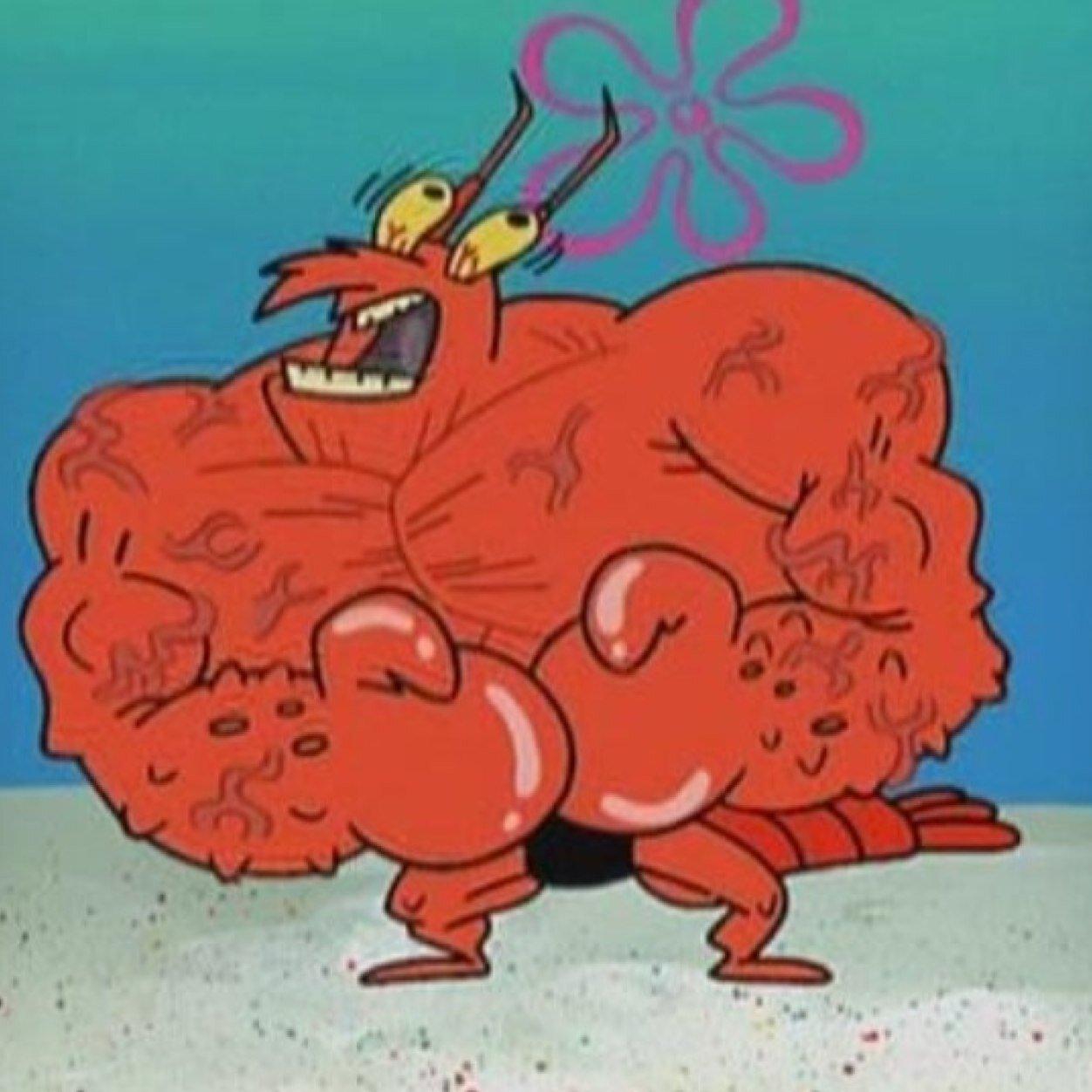Larry The Lobster At Larryflexx Twitter