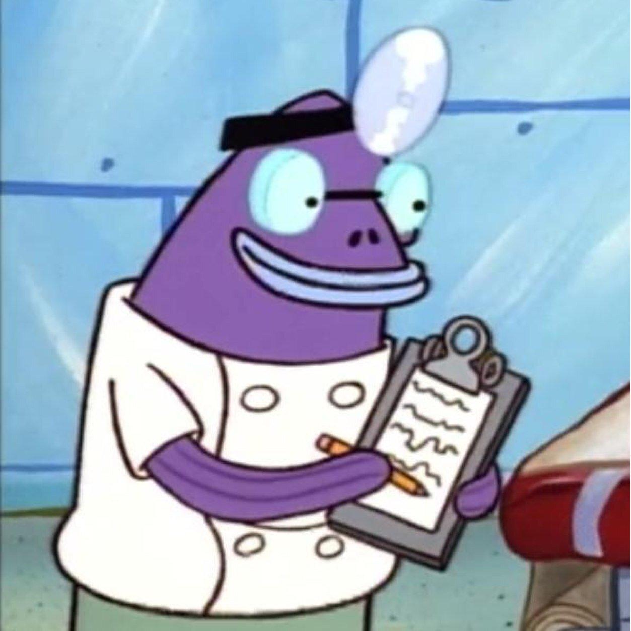 Purple doctor fish drfishnigga twitter for The fish doctor