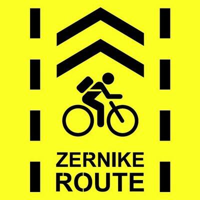 logo slimme fietsroute Zernike