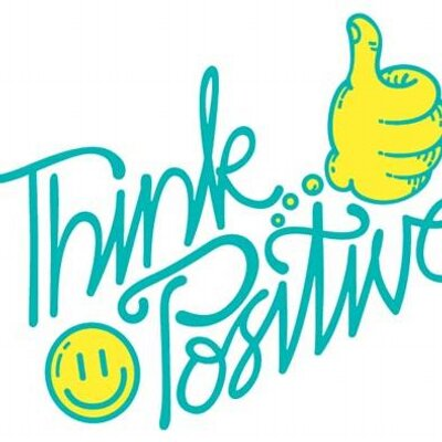 think positive athinkpositive twitter