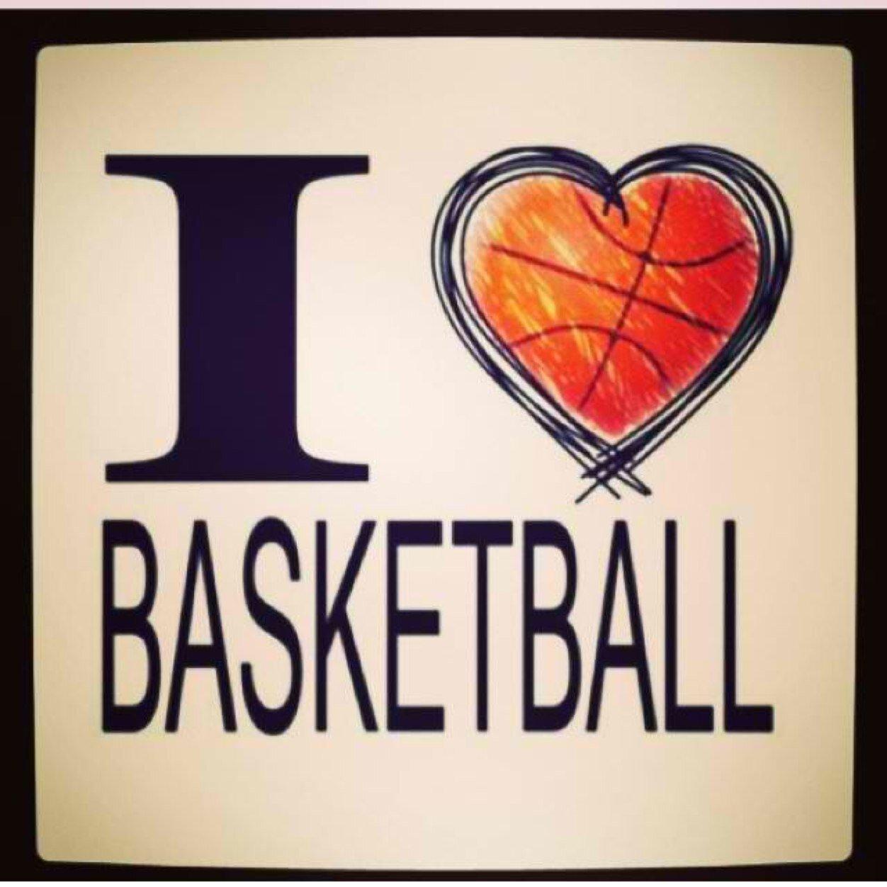 Картинка люблю баскетбол