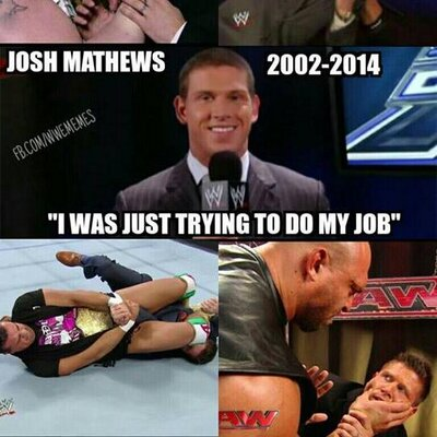 Twitter profile picture for Josh Mathews