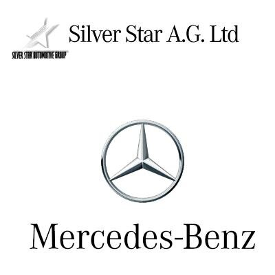 Attractive Silver Star Mercedes