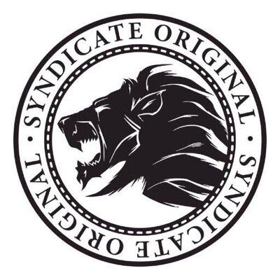Vinyl sticker car laptop PITBULL syndicate logo Dogs & Puppies ...