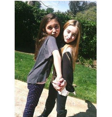 Rowan and Sabrina (@RowanB_SabrinaC)   Twitter Rowan Blanchard Girl Meets World