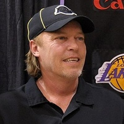 Photo of Jeanie Buss  & her Brother  Jim Buss