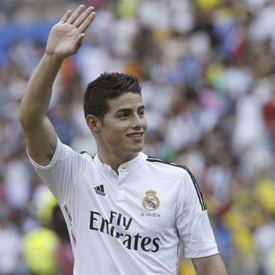 how to say james rodriguez