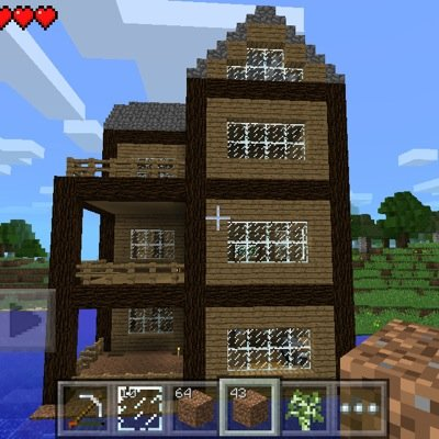 Enjoyable Minecraft Pe House Minecraftpehome Twitter Home Remodeling Inspirations Propsscottssportslandcom