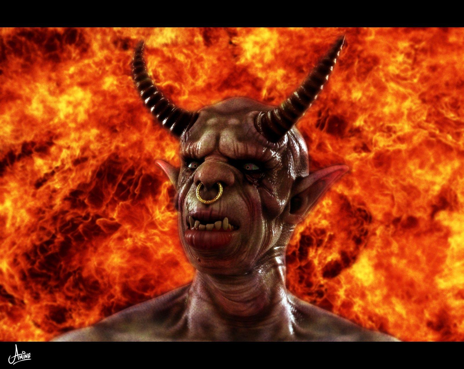 Дьявол и картинки, картинки