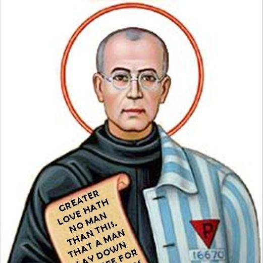 st maximilian kolbe stedandhs twitter. Black Bedroom Furniture Sets. Home Design Ideas