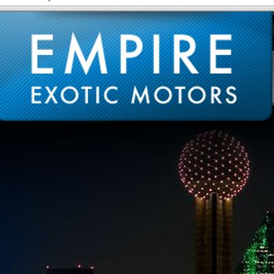 Empire Exotic Motors Empire Exotic Twitter