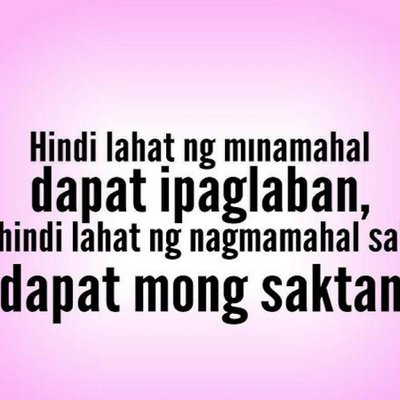 Tagalog Quotes on Twitter: