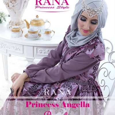 Elhafiz Moslem Shop On Twitter Gamis Syar I Model Payung Motif
